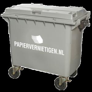 container papier vernietigen